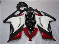 2013-2017 Kawasaki Ninja 300 Red/Black/White Fairings | NK31317-1
