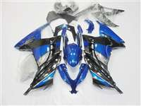 2013-2017 Kawasaki Ninja 300 Blue Special Edition Motorcycle Fairings | NK31317-12