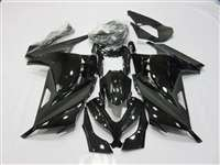 2013-2017 Kawasaki Ninja 300 Satin Black Gloss Fairings | NK31317-13