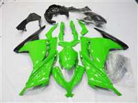 2013-2017 Kawasaki Ninja 300 Mean Green Fairings | NK31317-8