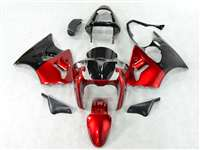 Kawasaki 2000-2002 ZX6R and 2005-2009 ZZR600 Motorcycle Candy Red Fairings | NK60002-11