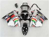 Kawasaki 2000-2002 ZX6R and 2005-2009 ZZR600 Black Eurobet Fairings | NK60002-13