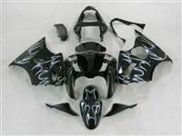 Kawasaki 2000-2002 ZX6R and 2005-2009 ZZR600 Ghost Tribal Fairings | NK60002-19