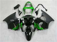 Kawasaki 2000-2002 ZX6R and 2005-2009 ZZR600 Green with Matte Fairings | NK60002-26