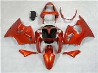 Kawasaki 2000-2002 ZX6R and 2005-2009 ZZR600 Candy Orange Fairings | NK60002-36
