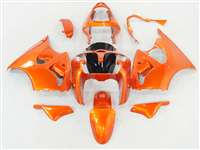 Kawasaki 2000-2002 ZX6R and 2005-2009 ZZR600 Metallic Orange Fairings | NK60002-46