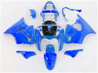 Kawasaki 2000-2002 ZX6R and 2005-2009 ZZR600 Bright Metallic Blue Fairings | NK60002-47