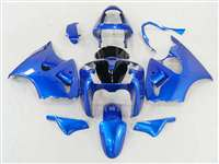 Plasma Blue Kawasaki 2000-2002 ZX6R and 2005-2009 ZZR600 Motorcycle Fairings | NK60002-49