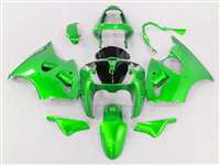 Kawasaki 2000-2002 ZX6R and 2005-2009 ZZR600 Monster Green Fairings | NK60002-50
