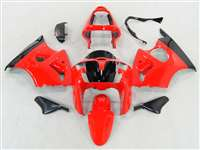 Red Kawasaki 2000-2002 ZX6R and 2005-2009 ZZR600 Motorcycle Fairings | NK60002-52