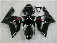 2003-2004 Kawasaki ZX6R Gloss Black Fairings | NK60304-10