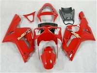 2003-2004 Kawasaki ZX6R Gloss Red Fairings | NK60304-14