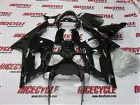 2003-2004 Kawasaki ZX6R Gloss Black Fairings | NK60304-18