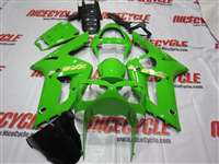 2003-2004 Kawasaki ZX6R Green Fairings | NK60304-2