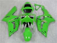 2003-2004 Kawasaki ZX6R Green Fairings | NK60304-9
