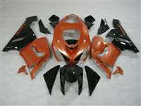 2005-2006 Kawasaki ZX6R Metallic Orange Fairings | NK60506-19