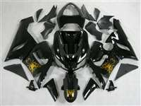 2005-2006 Kawasaki ZX6R Gold Butterfly Fairings | NK60506-25