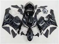 2005-2006 Kawasaki ZX6R Blue Fire Fairings NK60506-39