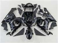2005-2006 Kawasaki ZX6R Tribal Grey Fairings | NK60506-40