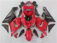 2005-2006 Kawasaki ZX6R Matte Red Fairings | NK60506-42