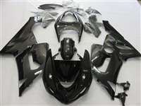 2005-2006 Kawasaki ZX6R Dark Charcoal Metallic Fairings | NK60506-49