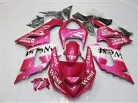 2005-2006 Kawasaki ZX6R Pink West Fairings | NK60506-51