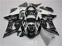 2005-2006 Kawasaki ZX6R Black Corona Fairings | NK60506-7