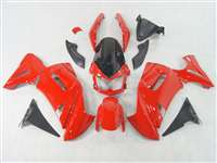 2006-2008 Kawasaki Ninja 650R / ER6s Gloss Red Fairings | NK60608-6