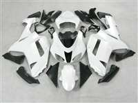 2007-2008 Kawasaki ZX6R Gloss White Fairings | NK60708-13
