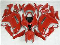 2007-2008 Kawasaki ZX6R Solid Red Fairings | NK60708-18