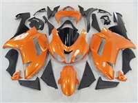 Metallic Orange 2007-2008 Kawasaki ZX6R Motorcycle Fairings | NK60708-22