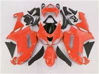 2007-2008 Kawasaki ZX6R Orange Fairings | NK60708-28