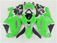2007-2008 Kawasaki ZX6R Bright Green Fairings | NK60708-29