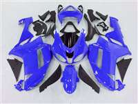 2007-2008 Kawasaki ZX6R Bright Blue Fairings | NK60708-30