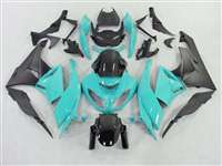 2009-2012 Kawasaki ZX6R Blue Teal Fairings | NK60912-16