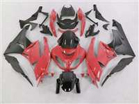 2009-2012 Kawasaki ZX6R Red Fairings | NK60912-17