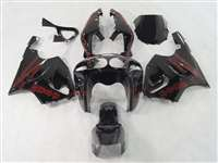 1997-2003 Kawasaki ZX-7R Airbrush Red Fairings | NK79703-8