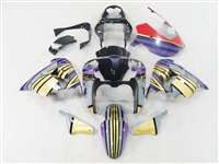 2002-2003 Kawasaki ZX9R Custom Gold Multi Fairings | NK90203-4