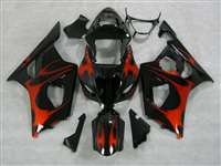 2003-2004 Suzuki GSXR 1000 Candy Tribal on Black Fairings | NS10304-18