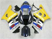 2003-2004 Suzuki GSXR 1000 Yellow/Blue Fairings | NS10304-19