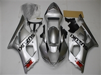 2003-2004 Suzuki GSXR 1000 Pure Silver Fairings | NS10304-21
