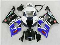 2003-2004 Suzuki GSXR 1000 Blue/White/Black Fairings | NS10304-23