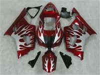 2003-2004 Suzuki GSXR 1000 Candy Red Fire Fairings | NS10304-24