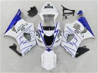 2003-2004 Suzuki GSXR 1000 White/Blue Corona Fairings | NS10304-27