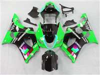 2003-2004 Suzuki GSXR 1000 Green Jomo Moto GP Fairings | NS10304-3