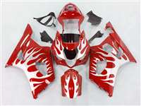 2003-2004 Suzuki GSXR 1000 Dark Red Fire Fairings | NS10304-31