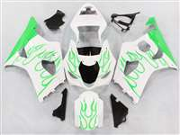 2003-2004 Suzuki GSXR 1000 Super Green Fire Fairings | NS10304-33