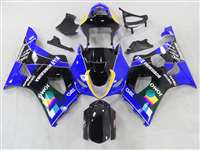 2003-2004 Suzuki GSXR 1000 Blue Jomo Moto GP Fairings | NS10304-4