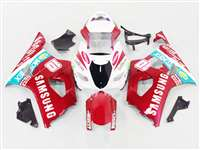 2003-2004 Suzuki GSXR 1000 Candy Red Samsung Fairings | NS10304-8