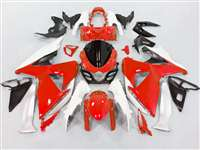 2009-2016 Suzuki GSXR 1000 Red/White Fairings | NS10916-11